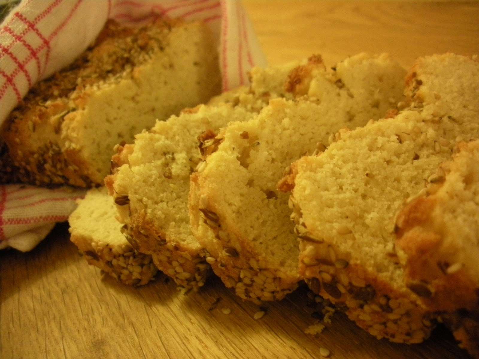 bröd med kokosmjöl