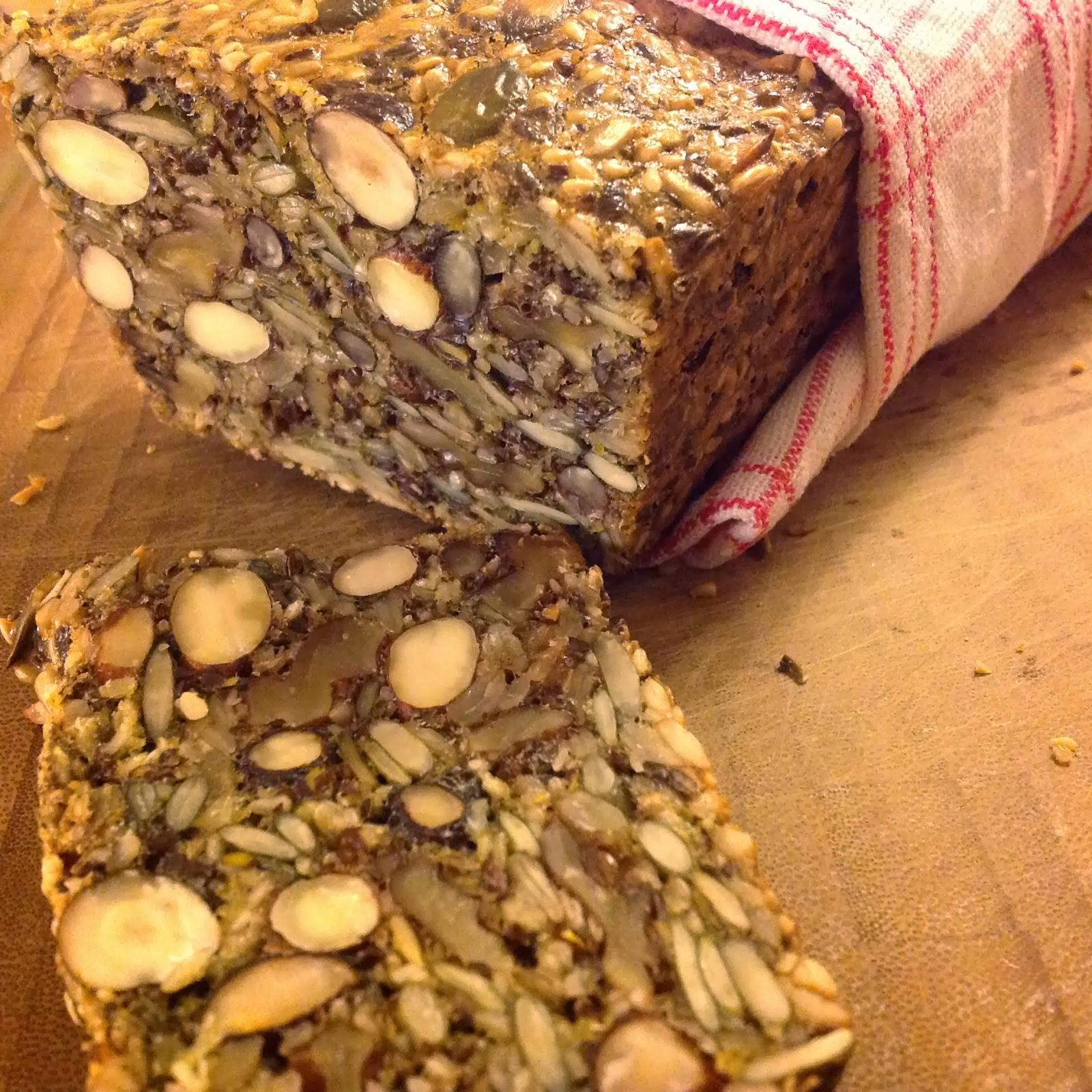 baka bröd med frön