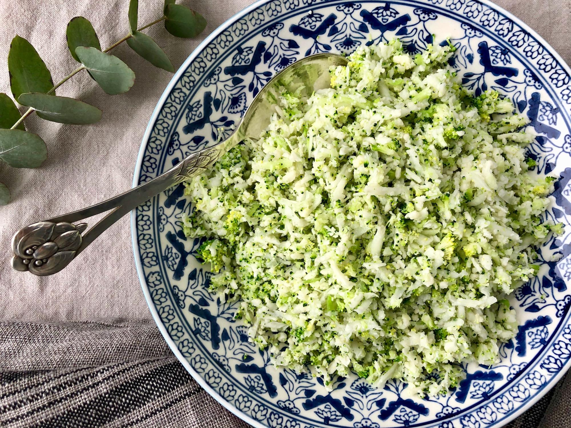 Blomkål och broccoliris