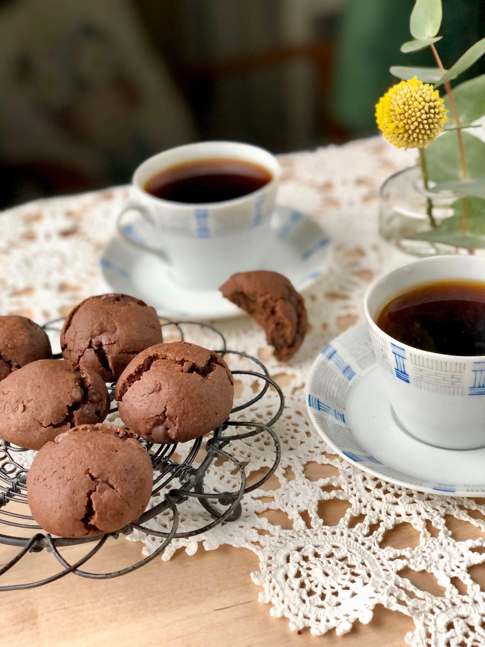 Gofika uppdukat med Chokladdrömmar till kaffet
