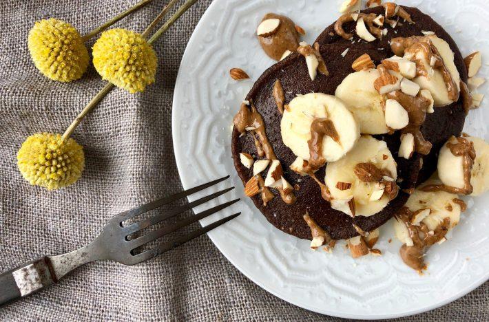Äggfria chokladplättar på bananmjöl